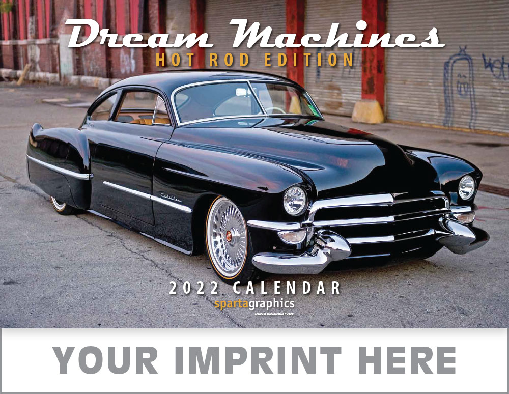 Dream Machines Hot Rod Cover